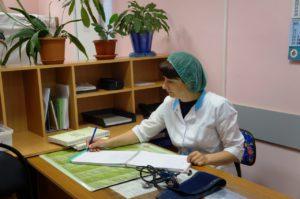 Дневной стационар, пост медсестры