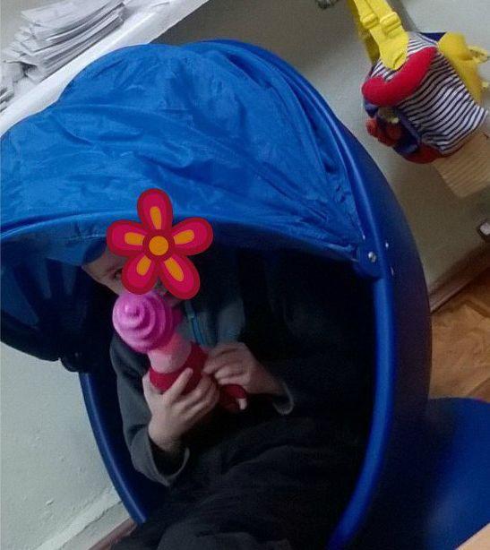 кабинет РАС, кресло кокон