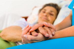 Больной деменцией дома