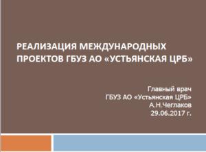 Чеглаков А.Н. Презентация
