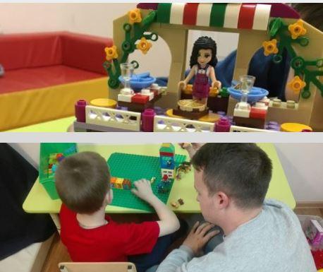 Занятия по Lego-конструированию для детей с РАС