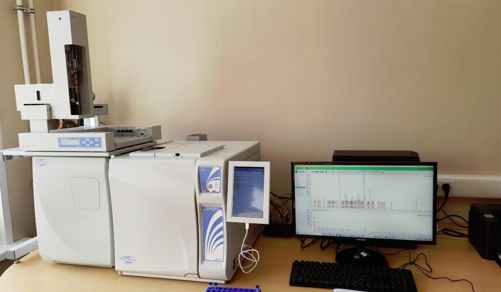 новый хромато-масс-спектрометр